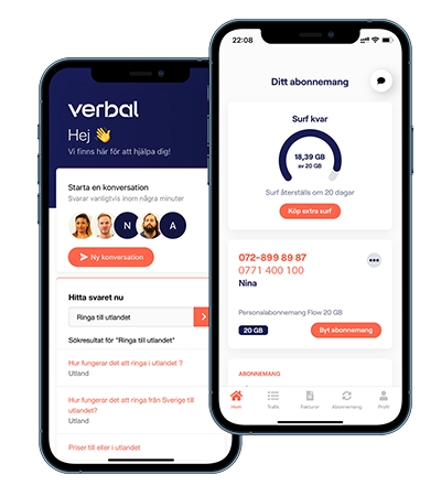 Our Verbal App